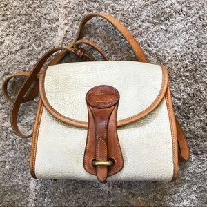 DOONEY & BOURKE // Vintage Leather Crossbody Bag